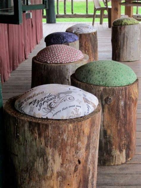 in tronchi di legno tronchi di legno 15 bellissimi esempi fai da te per