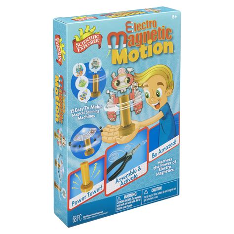 2in1 Magnetic Learning scientific explorer electro magnetic motion alexbrands