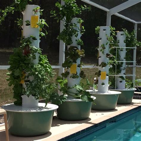 tower garden grow food   vertical aeroponic system