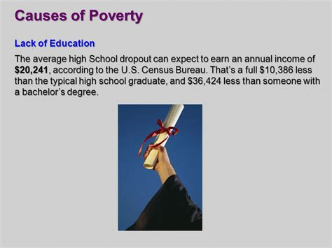 Lack Of Education Causes Poverty Essay by Chapter 13 Section 1 Unemployment Ppt