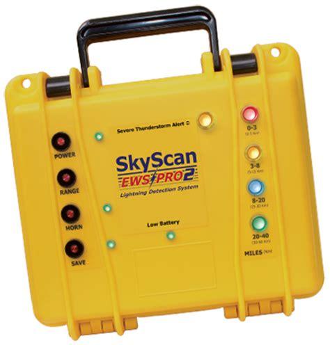 Lighting Detector by Skyscan Ews Pro2 Professional Lightning Detector