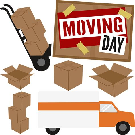 moving clipart moving day svg scrapbook collection moving svg files