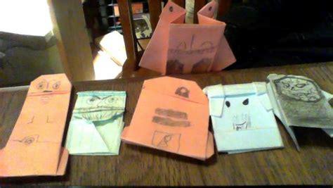 Origami Qui Gon Jinn - the phantom menace origami yoda