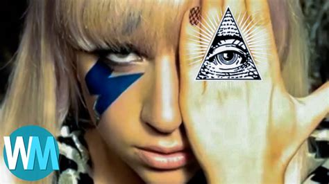 in illuminati top 10 that are supposedly in the illuminati