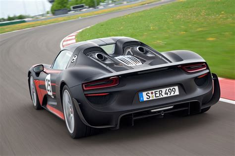 porsche back report 2 2 version of porsche 918 spyder considered