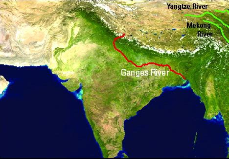 ganges river map delta research and global observation network