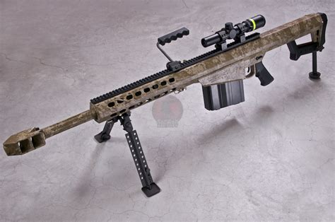 Airsoft Gun Sniper Barret M107 rwc x socom gear barrett m82a1 m107 ver 2 digital desert cqb version buy airsoft sniper