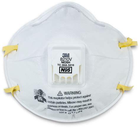 Masker N95 3m 8210v n95 particulate respirator box of 10 3m