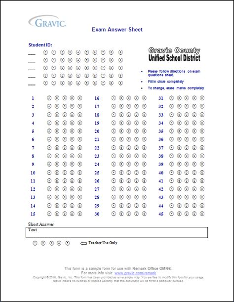 50 question answer sheet template printable answer sheet 100 questions images