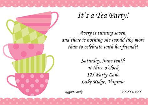 bridal tea party invitations bridal tea party invitations and the