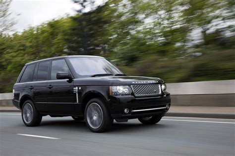 black land rover with black 2011 land rover range rover autobiography black edition