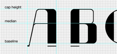 grid pattern font how to design a font part 3 make it digital go media