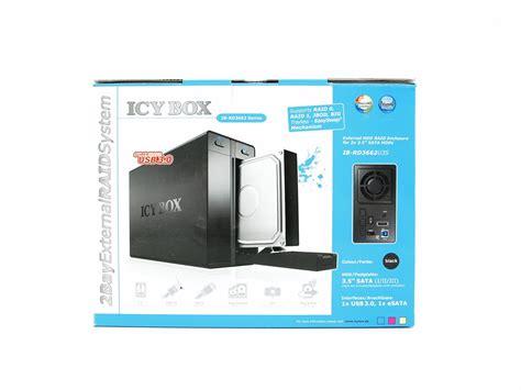 raidsonic icy box ib rd3662u3s external hdd raid enclosure review