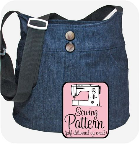 jeans handbag pattern denim bags 10 handpicked ideas to discover in diy and