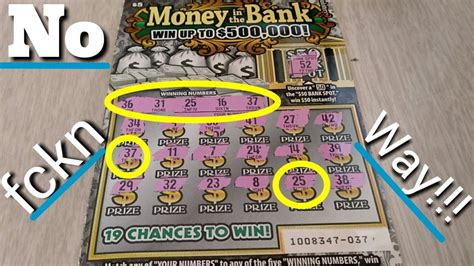 Who Win Money In The Bank - win on money in the bank ca scratchers youtube