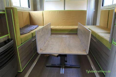 tisch mit klappe ᐅ der tisch im wohnmobil ausziehbar oder klappbar