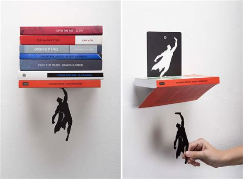 Bookend by Super Hero Bookend That Keeps Your Books From Falling Down