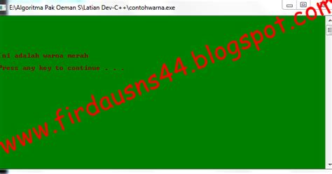 membuat tulisan metal akar online membuat koding warna dengan c firdaus n s