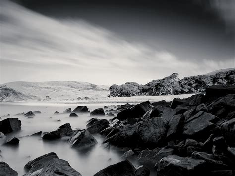 black and white ocean wallpaper black and white sea coast wallpaper it therefore