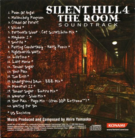 The Room Soundtrack by Silent Hill 4 Limited Edition Soundtrack Mp3