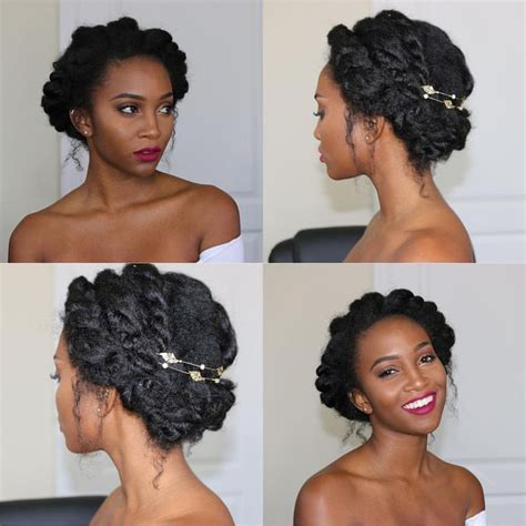natural styles that you can wear in the winter the beauty of natural hair board elegant updo formal