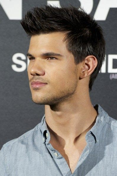 how to style my hair like taylor lautner 17 best images about 01剪髮設計 spiky hairstyle刺蝟 on pinterest