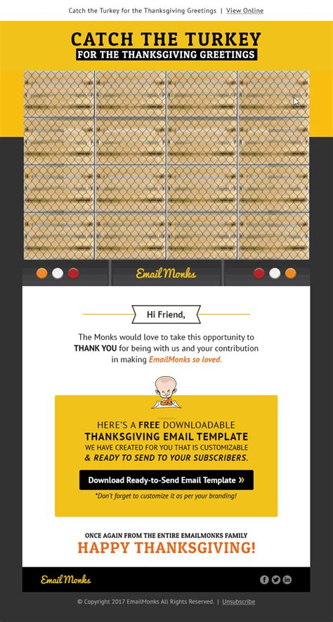 thanksgiving email templates happy thanksgiving email templates image collections