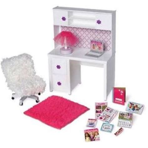 american doll desk set my life as desk chair doll furniture fits 18 quot american