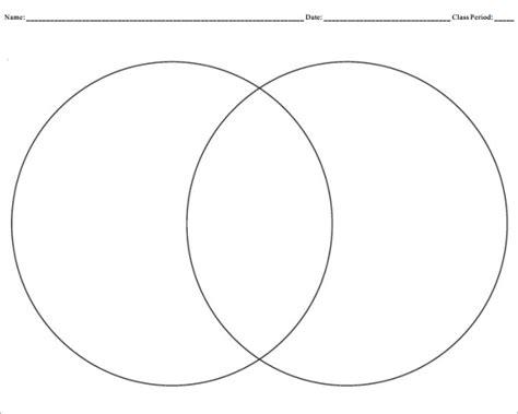 Venn Diagram Template Pdf