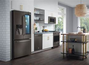 Black Kitchen Cabinets With Stainless Steel Appliances by Black Stainless Steel Appliances Are The Next Big Trend