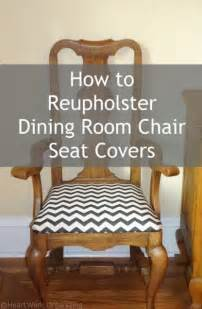 How To Cover Dining Room Chair Seats How To Reupholster Dining Room Chair Seat Covers Sitting