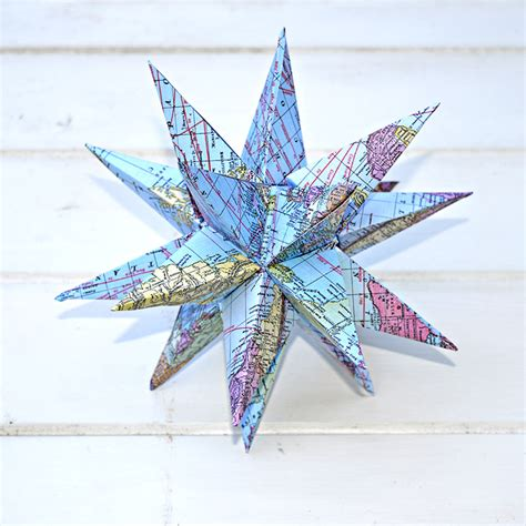 printable star decorations how to make gorgeous free printable map star decorations