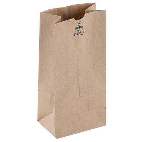 5 lb kraft grocery bag jobena