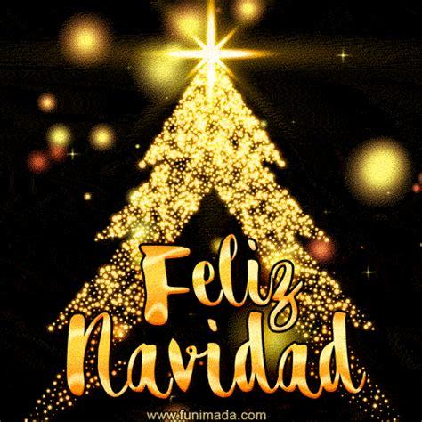 feliz navidad gif merry christmas  spanish   funimadacom