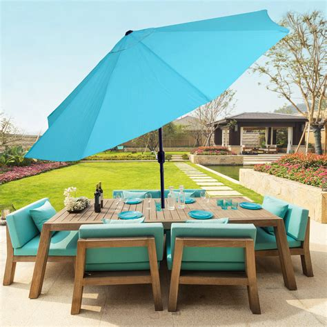 stand alone patio umbrella pink and white duvet