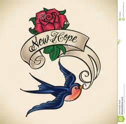swallow brings new hope royalty free stock photo image