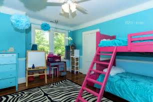 bedroom ideas for teal and pink