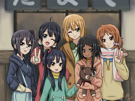 5 Anime Friends by Tm Friends Forever By Athyra On Deviantart