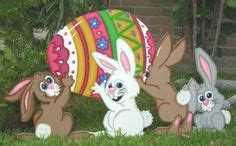 Touch The Happy Bunny With Lapis by Window Easter Ideas On Vintage Easter