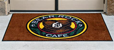 commercial rugs with logo entrance mats custom printed entrance mats