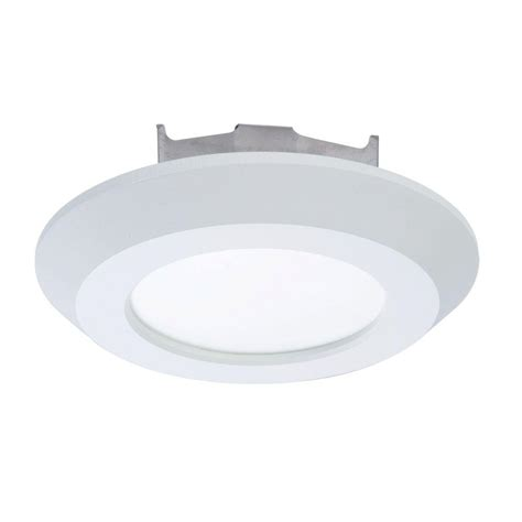 low profile surface mount led lighting halo sld 4 in matte white integrated led low profile