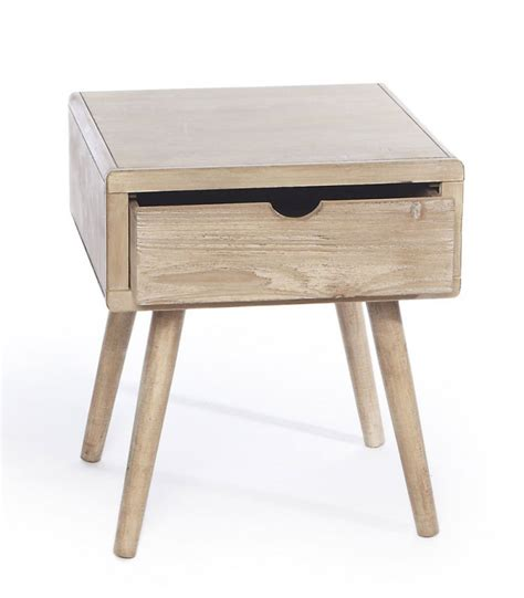 bedside table height bedside table with 1 drawer height 46cm
