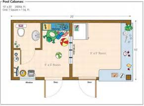 pool house floor plans
