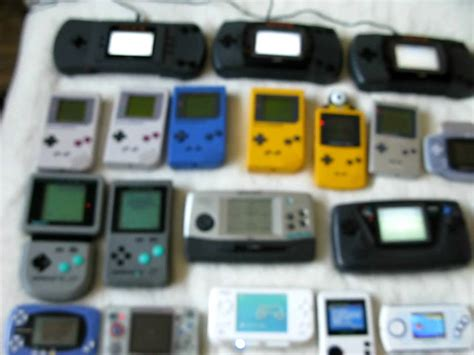 handheld console handheld console collection april 2010 updated