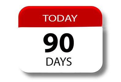 Calendar 90 Days From Today The Universe And Nuffing 3 Months Today