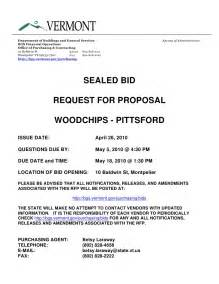 request for bids template sealed bid form template