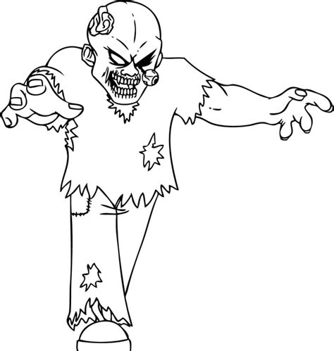 scary coloring pages of zombies zombie coloring pages az coloring pages