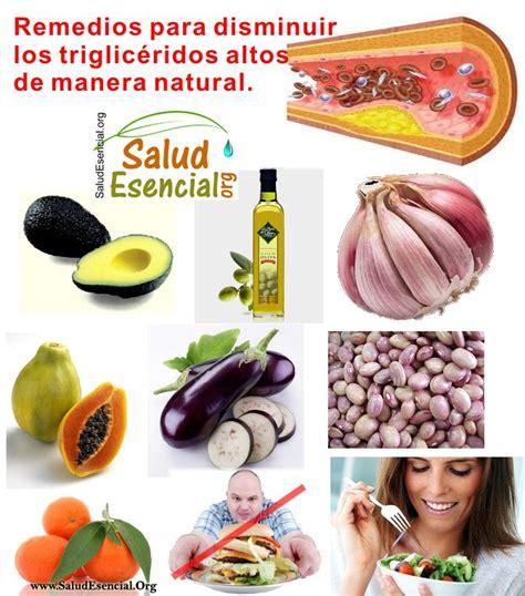 remedios  disminuir trigliceridos altos de manera natural salud trigliceridos altos