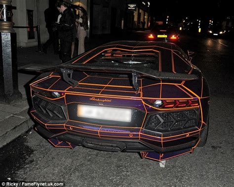 what color car gets the most tickets glow in the lamborghini aventador is ticketed in