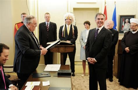 Alberta Cabinet Ministers by Photos Prentice Unveils New Alberta Cabinet